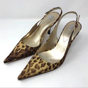 Like 🆕 GUESS leopard print slingbacks